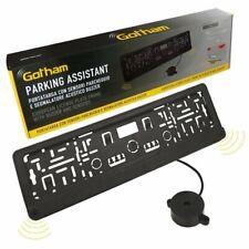 Sensori di parcheggio gotham per portatarga plastica nero