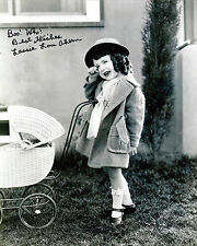 Lassie Lou Ahern signed 8x10 Our Gang photo / autograph
