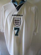 England 1995-1997 Beckham 7 Home Football Shirt 2XL /34457