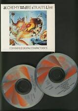 DIRE STRAITS Alchemy Live 2 CD BOX IN ORIGINAL SLIP CASE WEST GERMANY