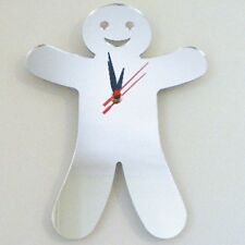 Gingerbread Man Clock - Acrylic Mirror (Several Sizes Available)