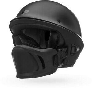 Bell Rogue Half Helmet with Muzzle Motorcycle Street Bike