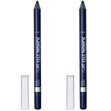 2-Pack New Rimmel Scandaleyes Waterproof Kohl Kajal Eyeliner Deep Blue 0.042 Oz