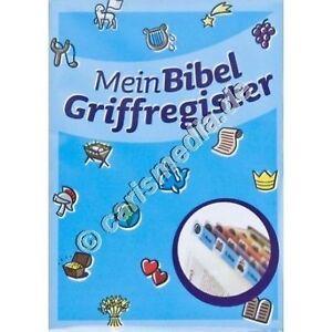 BIBEL-GRIFFREGISTER: MEINE BIBEL- Bibel-Register für Kinder - Genial! *TOP* °CM°