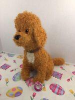 "EUC-12"" Fancy Nancy Frenchy Barking Dog Plush Toy Disney Junior"