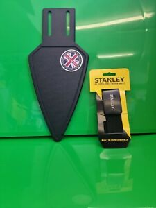 MAGNET MASTER WITH STANLEY BELT MAGNETIC TROWEL HOLDER MATE MADE IN THE UK !!