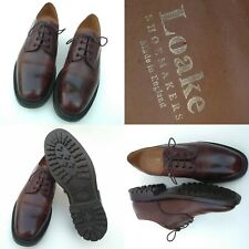 Loakes Denby Epsom Commando Good Year Welted Soles Brown Size 9.5 Hiking Shoes