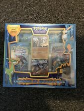 Pokémon Card Legends Of Justice Collection Box - Factory Sealed - 3 Booster Pack
