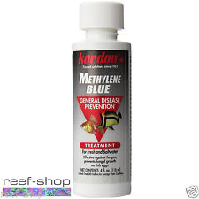 Kordon Methylene Blue 4 oz Treat Freshwater & Marine Fish Diseases FREE USA SHIP