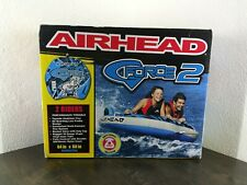 """Airhead G Force 2 Towable Inflatable Tube Raft 1 or 2 riders 64"""" X 60"""""""