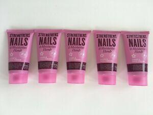 5x Superdrug Hand & Nail Strengthening Cream + Moisturises Hands B5 + Almond Oil
