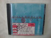 Collective Soul Autographed Concert Ticket 4 Signatures 1995 Nashville + CD