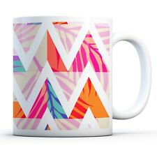 Abstract Tropical - Drinks Mug Cup Kitchen Birthday Office Fun Gift #15780