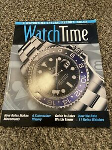 Watch Time Magazine Unread May 2015 Rolex Special Report