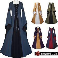 Moyen Âge Carnaval Gothik robe chasuble Costume Johanna Léviathans Choix De Couleur