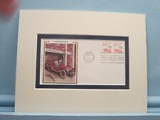 Firemen & the Fire Engine & First Day Cover of the Fire Engine stamp