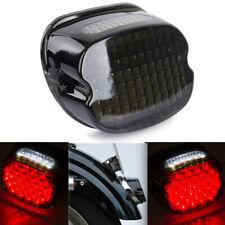feu arri/ère LED Low Profile Smoke pour Harley Sportster E Glide /à partir de 99 Dyna Fat Boy