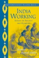 India Working: Essays on Society and Economy (Contemporary South Asia) by Barba