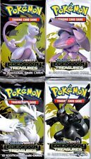 4x Pokemon Black and White LEGENDARY TREASURES Booster Pack (10 Cards)