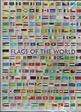 "EuroGraphics Flags of The World Puzzle (1000-Piece) SEALED 19"" x 26"""