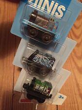 Thomas Minis *NEW*Spooky Edward *Electrified Spencer Graffiti Luke *Three 3 Pack