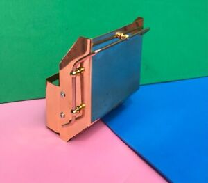 MAMOD BRASS SCUTTLE WITH HANDRAILS  FOR  TRACTION ENGINE & ROLLERS