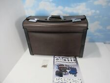 PLATT HT219 Oxford Brown Protective Case With Keys 1994 Great Condition
