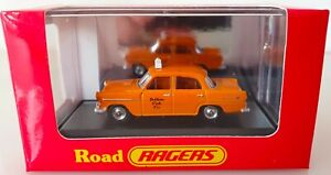 Cooee Road Ragers 1958 Holden FC Yellow Cab Taxi. HO Scale. R.029.