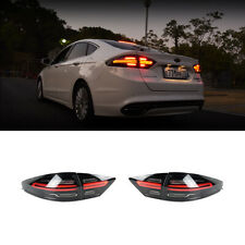 Porsche Style LED Tail Lights Rear Lamps For Ford Fusion / Mondeo 2013~2016