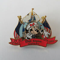 Disney WDW July 4 2000 Set Minnie at the Magic Kingdom Pin