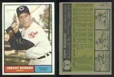 (44650) 1961 Topps 5 Johnny Romano Indians-EM
