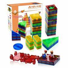 78-158tlg Blocks Magnetic Building Kinder Spielzeug Magnetische Bausteine Blöcke