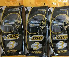 4 BIC 3 Sensitive Triple Blade Extra Glide Mens Disposable Shaving Razor Bladex1