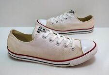 Ladies/Girls CONVERSE LO-SLIM OX White canvas Trainers Size 4