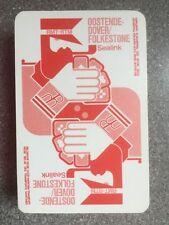 vintage SEALINK shipping playing cards by Carta Mundi