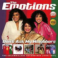 The Emotions - Don't Ask My Neighbors: The Columbia / ARC Recordings 1 (NEW 3CD)