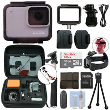 GoPro HERO7 White 10 MP Waterproof Action Camera Camcorder + 16GB Accessory Kit