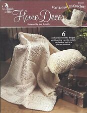 Annie's Attic - I Can't Believe It's Crochet - Home Decor - Booklet # 872653