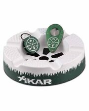XiKAR 917SGO Limited Edition The 19th Hole Ashtray Cutter Bottle Opener Gift Set