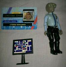 Space Precinct - Captain Podly + 1 accessory - card DCPD - C1641M - 54003 - 1994