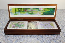 Vintage Readers Digest Wood Game Box Cards Decks & Dice Corporate Art Collection
