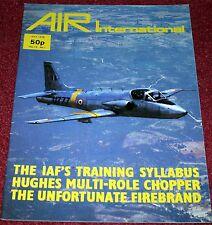 Air International 1978 July Blackburn Firebrand,Hughes 500,Indian Air Force
