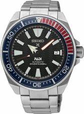 SEIKO Samurai Prospex Padi Black Divers Automatic Watch SRPB99K1