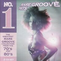NO. 1 RARE GROOVE HITS From the 70s and 80s - 2 CD set