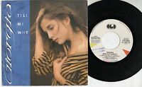 GIORGIA FIORIO disco 45 giri MADE in ITALY Tell me why STAMPA ITALIANA 1986