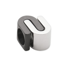ENERGETIX-cancellatele in acciaio inox Bead per collect Magnetico Bracciale Ying-Yang design 2091a