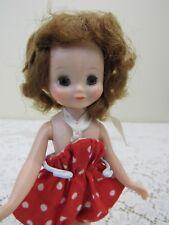 "Vtg 1950s American Character BETSY MCCALL Doll 8"" Sun 'N Sand GOOD KNEES"