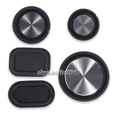 2pcs 48/56/76mm Speaker Passive Radiator Auxiliary Bass Rubber Vibration Plate
