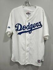 Vintage Majestic Los Angeles Dodgers Nomar Garciaparra 5 Jersey Mens XL Sewn