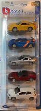 Burago 1/64 Five Super Cars Set